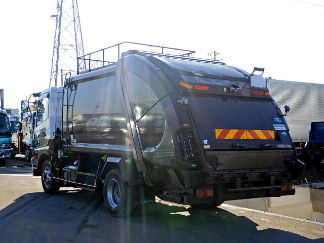 日産UD コンドル 中型 パッカー車 プレス式 SKG-MK38L トラック 右後画像 リトラス掲載