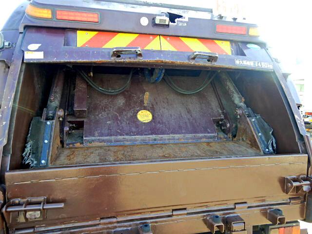 日産UD コンドル 中型 パッカー車 プレス式 SKG-MK38L 運転席 トラック 画像 トラック王国掲載