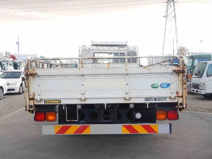 日産UD コンドル 中型 平ボディ 床鉄板 SKG-MK38L|トラック 背面・荷台画像 トラック市掲載