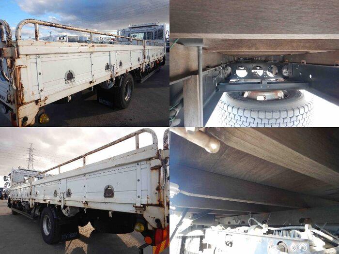 日産UD コンドル 中型 平ボディ 床鉄板 SKG-MK38L|型式 SKG-MK38L トラック 画像 栗山自動車掲載