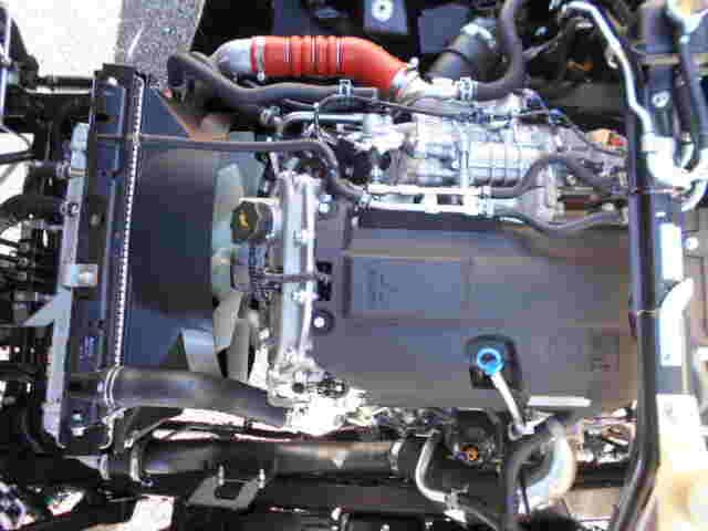 三菱 キャンター 小型 平ボディ パワーゲート 2PG-FEB80|積載 3.5t トラック 画像 ステアリンク掲載