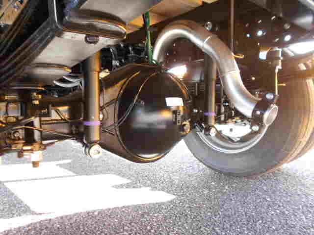 三菱 キャンター 小型 平ボディ パワーゲート 2PG-FEB80|架装 パブコ トラック 画像 トラックバンク掲載