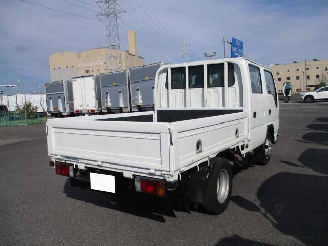 いすゞ エルフ 小型 平ボディ Wキャブ BKG-NJR85A 画像2