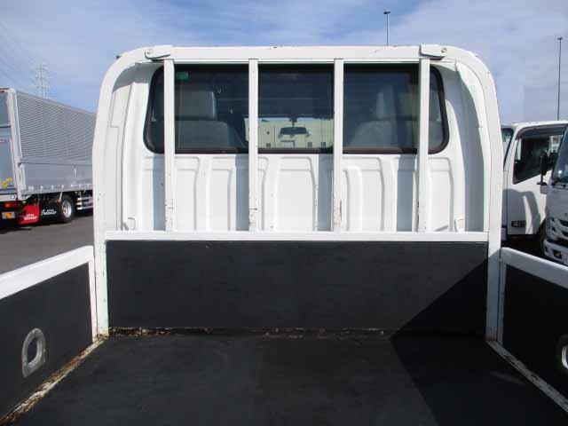 いすゞ エルフ 小型 平ボディ Wキャブ BKG-NJR85A 画像4