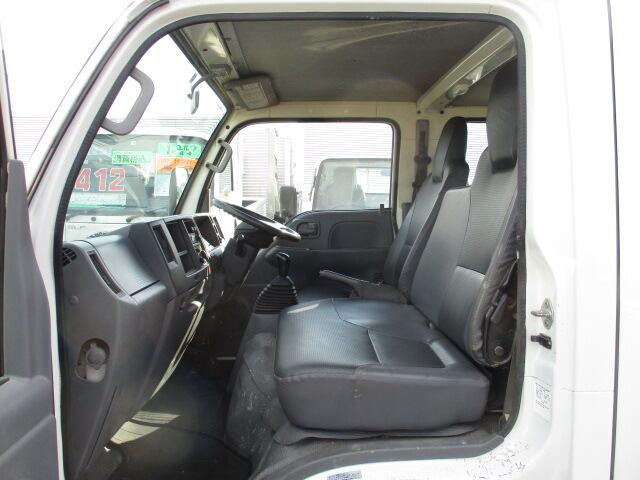いすゞ エルフ 小型 平ボディ Wキャブ BKG-NJR85A 画像7
