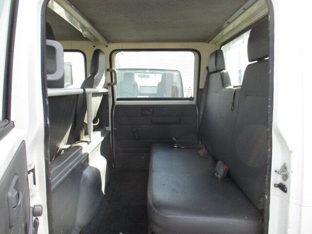 いすゞ エルフ 小型 平ボディ Wキャブ BKG-NJR85A 画像8