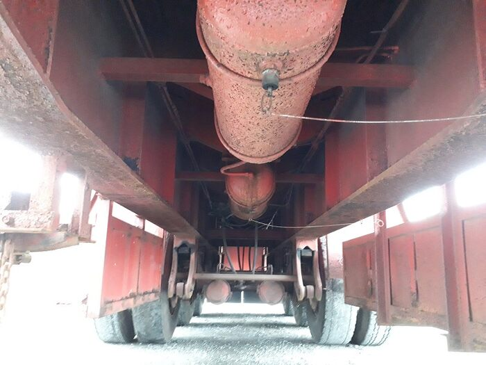 国内・その他 国産車その他 その他 トレーラ 3軸 2デフ|シフト  トラック 画像 ステアリンク掲載