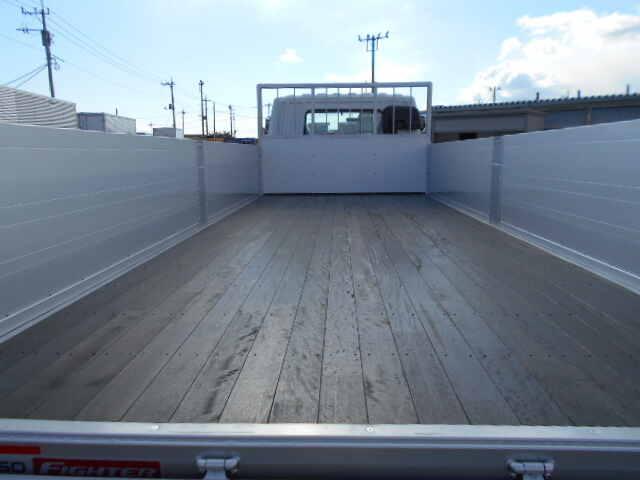 三菱 ファイター 中型 平ボディ アルミブロック ベッド|画像3