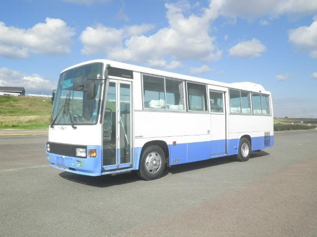 日野 レインボー 中型 バス 乗合バス KK-RR1JJGA|トラック 左前画像 トラックバンク掲載