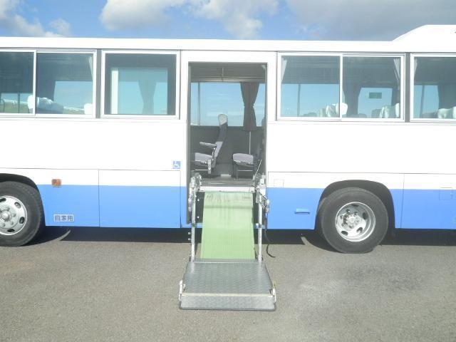 日野 レインボー 中型 バス 乗合バス KK-RR1JJGA|荷台 床の状態 トラック 画像 トラックサミット掲載