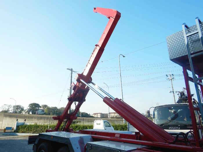 日野 プロフィア 大型 アームロール ハイルーフ ツインホイスト 画像8