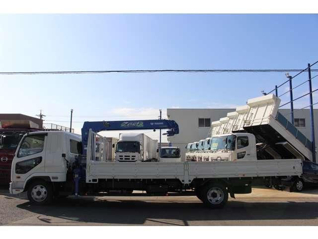 三菱 ファイター 中型 クレーン付 4段 ラジコン|トラック 背面・荷台画像 トラック市掲載