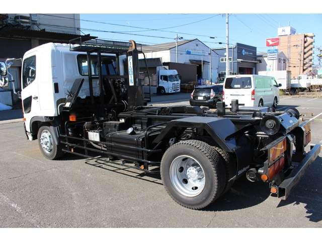 日野 レンジャー 中型 アームロール ツインホイスト ベッド|トラック 背面・荷台画像 トラック市掲載