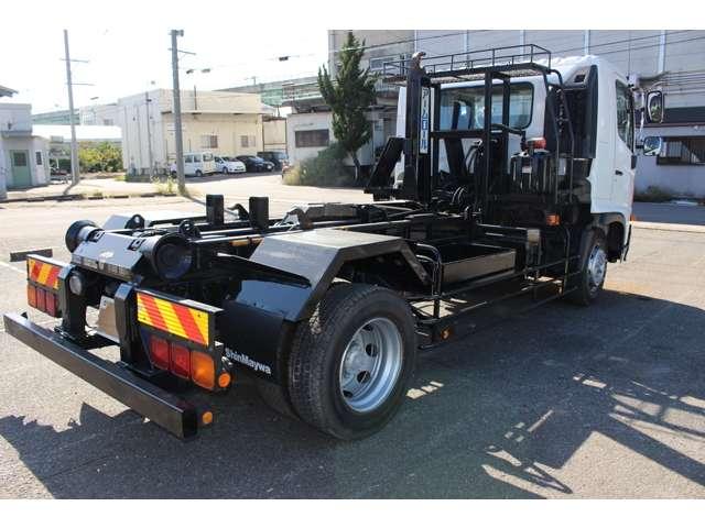 日野 レンジャー 中型 アームロール ツインホイスト ベッド|シフト MT6 トラック 画像 ステアリンク掲載