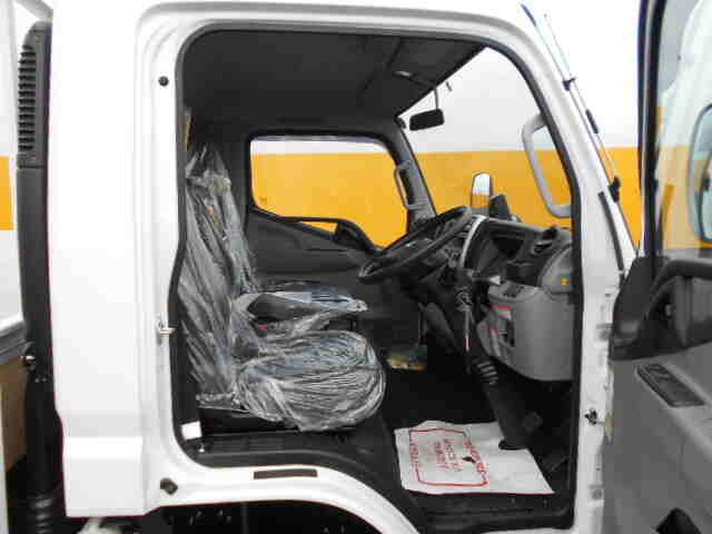 三菱 キャンター 小型 平ボディ パワーゲート アルミブロック|車検  トラック 画像 キントラ掲載
