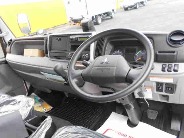 三菱 キャンター 小型 平ボディ パワーゲート アルミブロック|シフト MT5 トラック 画像 ステアリンク掲載