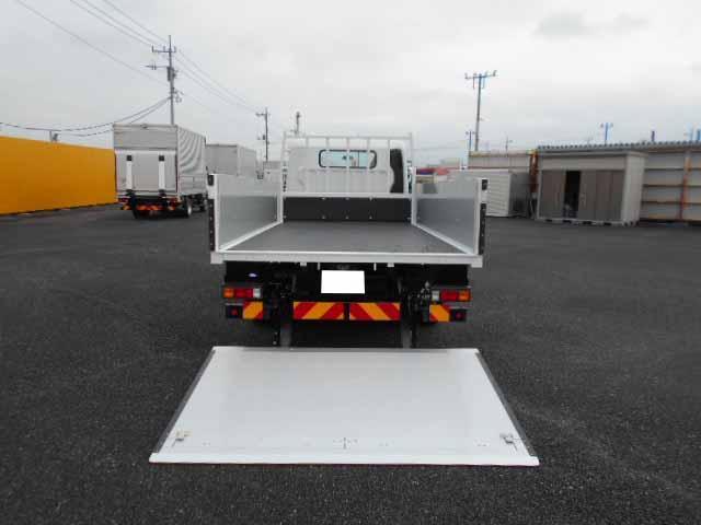 三菱 キャンター 小型 平ボディ パワーゲート アルミブロック|トラック 背面・荷台画像 トラック市掲載
