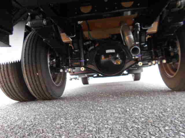 三菱 キャンター 小型 平ボディ パワーゲート アルミブロック|コーションプレート トラック 画像 リトラス掲載