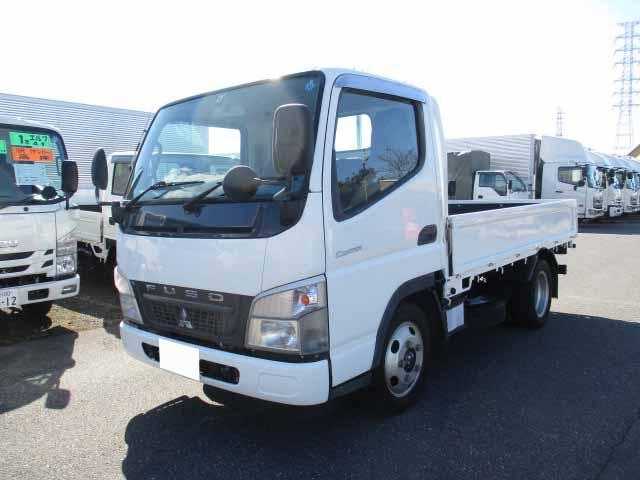 三菱 キャンター 小型 平ボディ BKG-FE70BS H22|トラック 左前画像 トラックバンク掲載