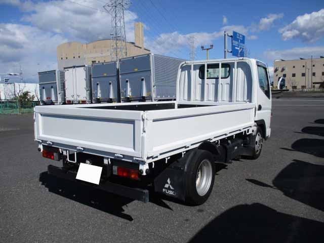 三菱 キャンター 小型 平ボディ BKG-FE70BS H22|トラック 右後画像 リトラス掲載