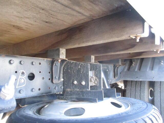 三菱 キャンター 小型 平ボディ BKG-FE70BS H22|シャーシ トラック 画像 キントラ掲載
