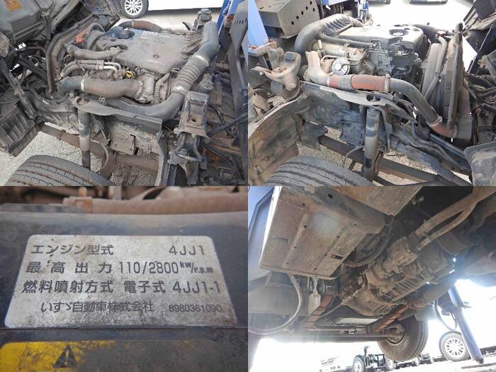 いすゞ エルフ 小型 高所・建柱車 高所作業車 BDG-NKR85N|積載 0.2t トラック 画像 ステアリンク掲載