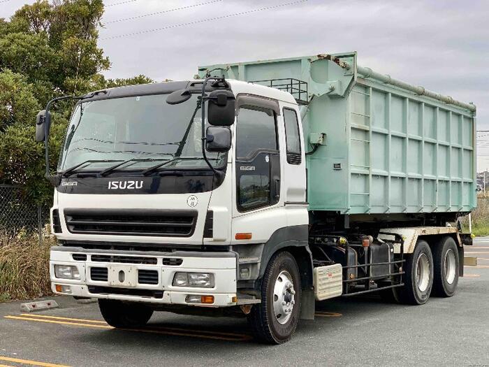 中古 アームロール大型 いすゞギガ トラック H19 PJ-CYZ51Q6