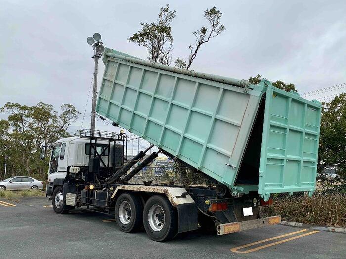 いすゞ ギガ 大型 アームロール コンテナ付き ツインホイスト|年式 H19 トラック 画像 トラックサミット掲載