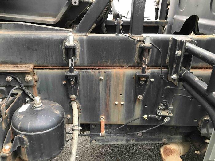 いすゞ ギガ 大型 アームロール コンテナ付き ツインホイスト|シャーシ トラック 画像 キントラ掲載