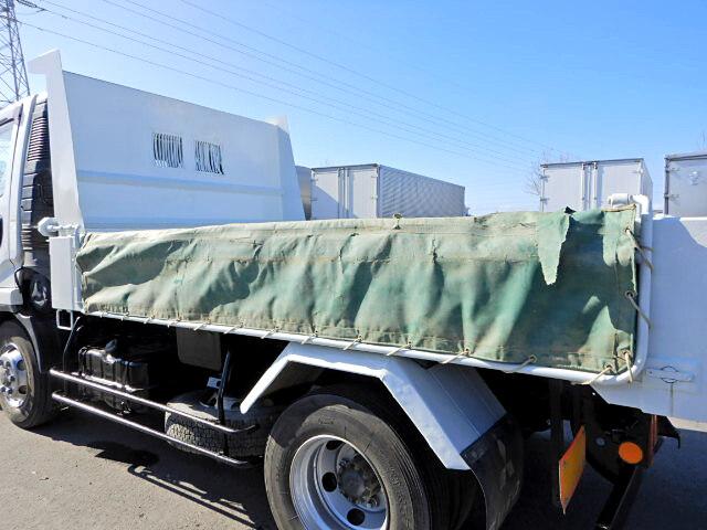 三菱 ファイター 中型 ダンプ Lゲート コボレーン|積載 3.6t トラック 画像 ステアリンク掲載