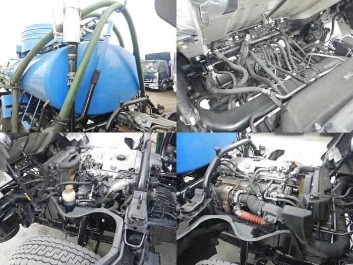 三菱 キャンター 小型 タンク車 バキューム PDG-FE83DY 画像12