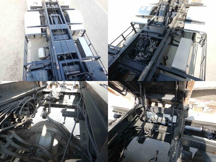 三菱 スーパーグレート 大型 アームロール コンテナ付き シングルホイスト|画像16