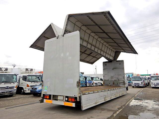 三菱 ファイター 中型 ウイング 幌ウイング 床鉄板|画像2