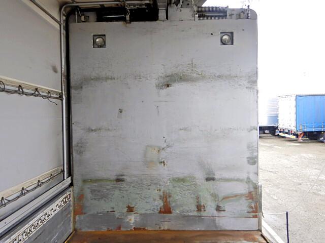 三菱 ファイター 中型 ウイング 幌ウイング 床鉄板|画像4