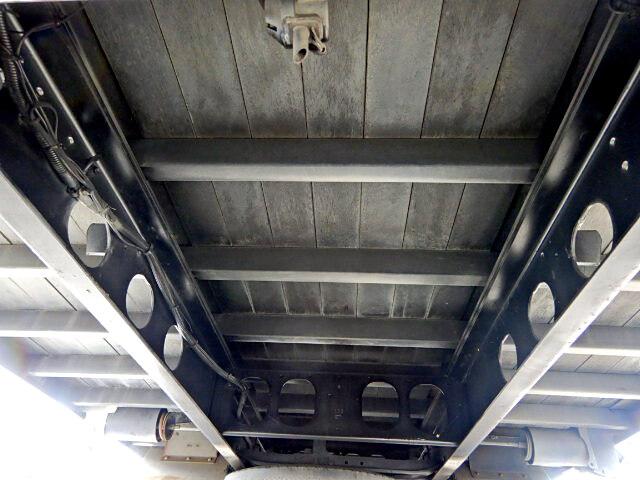 三菱 ファイター 中型 ウイング 幌ウイング 床鉄板|画像13