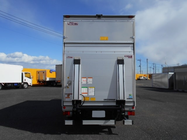 三菱 キャンター 小型 アルミバン パワーゲート サイドドア|駆動方式 4x2 トラック 画像 リトラス掲載