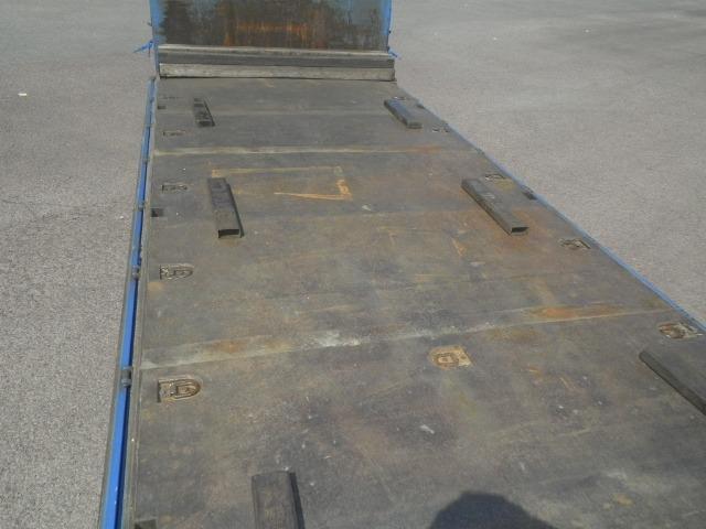 日野 レンジャー 中型 平ボディ 床鉄板 ベッド|画像3