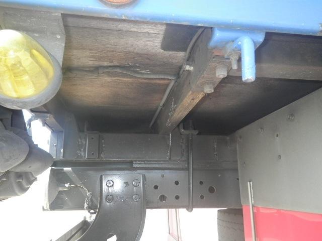 日野 レンジャー 中型 平ボディ 床鉄板 ベッド|画像9