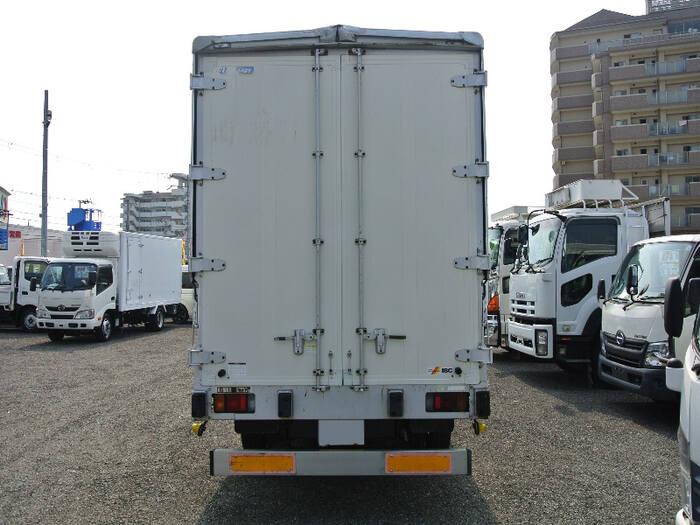 いすゞ エルフ 小型 ウイング 床鉄板 PA-NPR81R|トラック 背面・荷台画像 トラック市掲載