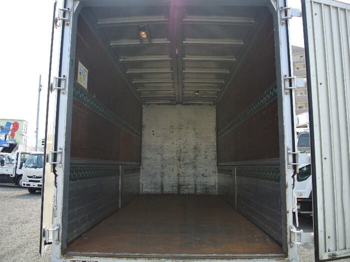 いすゞ エルフ 小型 ウイング 床鉄板 PA-NPR81R|運転席 トラック 画像 トラック王国掲載