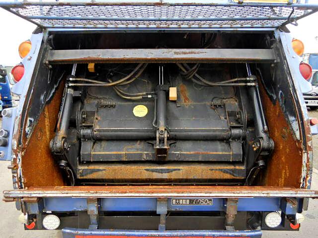 三菱 ファイター 中型 パッカー車 プレス式 KK-FK71HE|積載 1.75t トラック 画像 ステアリンク掲載