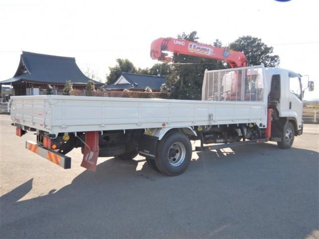 いすゞ フォワード 中型 クレーン付 4段 ラジコン トラック 背面・荷台画像 トラック市掲載