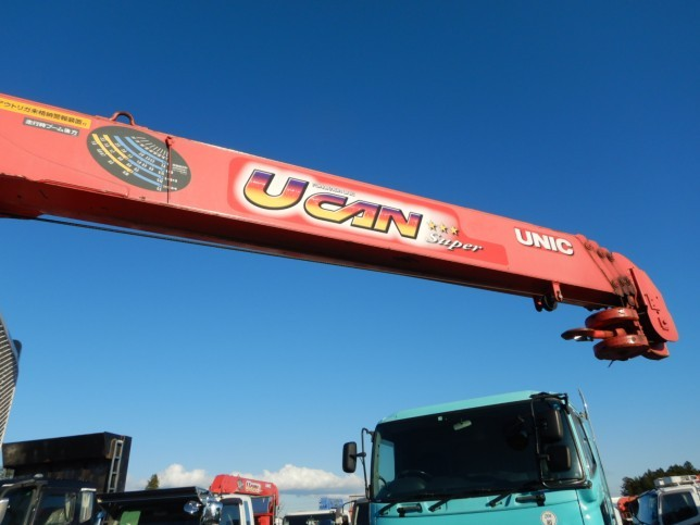 いすゞ フォワード 中型 クレーン付 4段 ラジコン フロントガラス トラック 画像 トラック王国掲載