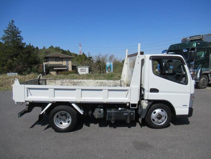 三菱 キャンター 小型 ダンプ 強化 TKG-FBA60|トラック 右後画像 リトラス掲載