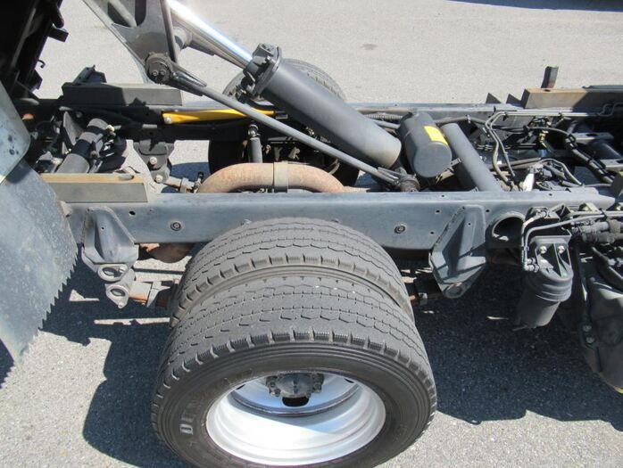 三菱 キャンター 小型 ダンプ 強化 TKG-FBA60|シフト MT5 トラック 画像 ステアリンク掲載