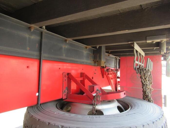 日産UD クオン 大型 平ボディ 床鉄板 エアサス 型式 PKG-CD4ZL トラック 画像 栗山自動車掲載