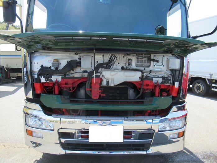 日産UD クオン 大型 平ボディ 床鉄板 エアサス 駆動方式 6x2 トラック 画像 リトラス掲載