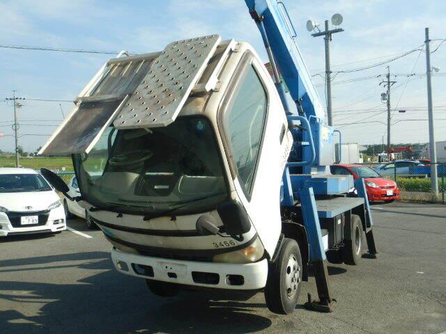 日野 デュトロ 小型 高所・建柱車 高所作業車 PB-XZU301E|画像7