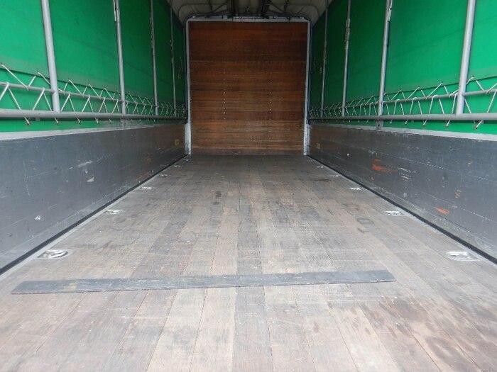 日野 レンジャー 中型 ウイング 幌ウイング ベッド|走行距離 24.6万km トラック 画像 トラックランド掲載