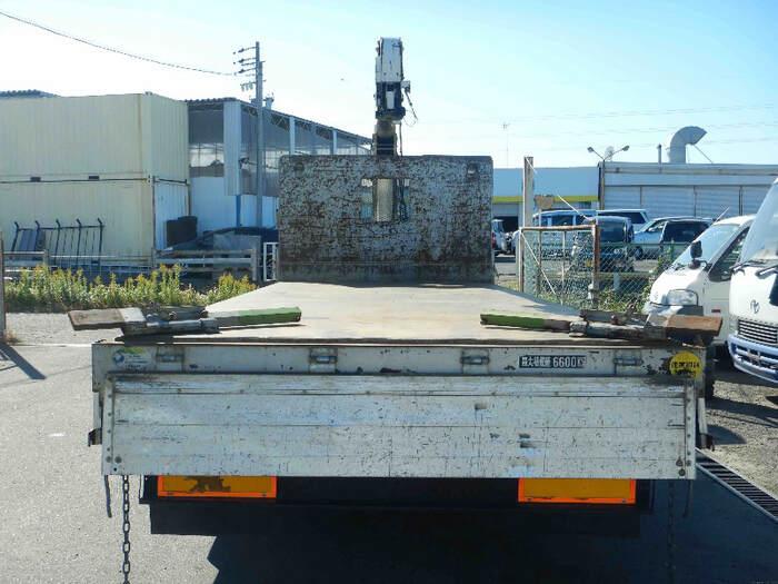 日野 レンジャー 中型 クレーン付 床鉄板 アルミブロック 画像4